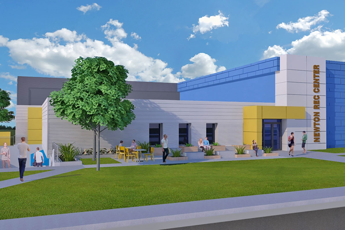 Newton Recreation Center Renovation